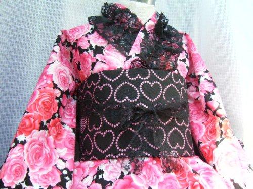他の写真1: ゴスロリ着物ドレス(浴衣)